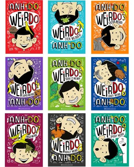 WeirDo: The Spooky Weird Collection Books 1-9