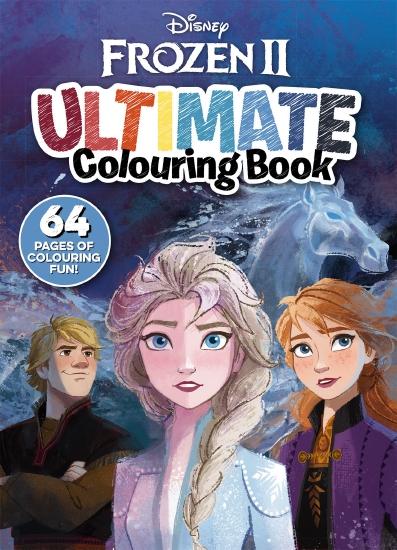 Frozen 2: Ultimate Colouring Book (Disney)