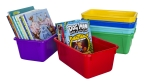 Small Storage Bin with Lid - Set of 6