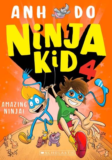 Ninja Kid #4: Amazing Ninja!