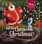 Olaf's Night Before Christmas (Disney Frozen: Book & CD)