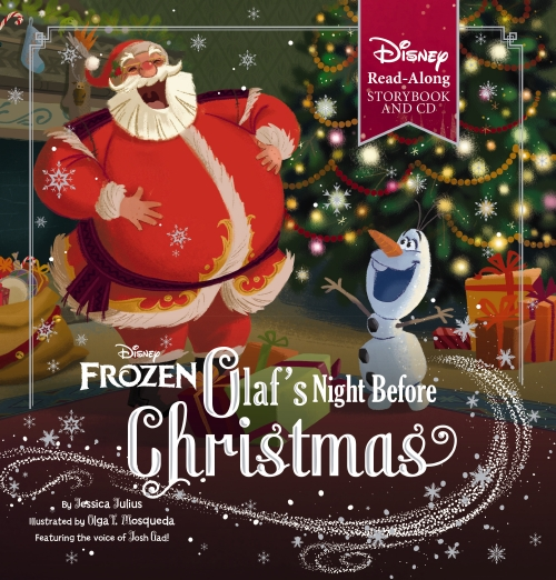 Olaf's Night Before Christmas (Book & CD)