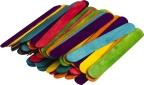 STEM Basics: Multicoloured Jumbo Craft Sticks
