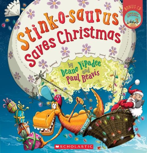 Stink-O-Saurus Saves Christmas