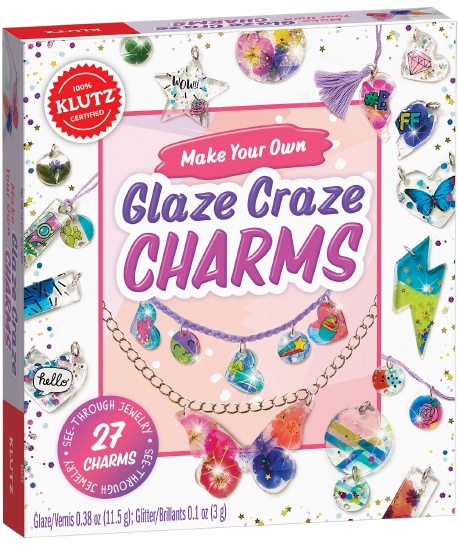 Make Your Own Glitz N' Glaze Charms
