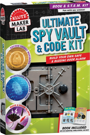 Klutz Maker Lab: Ultimate Spy Vault & Code Kit