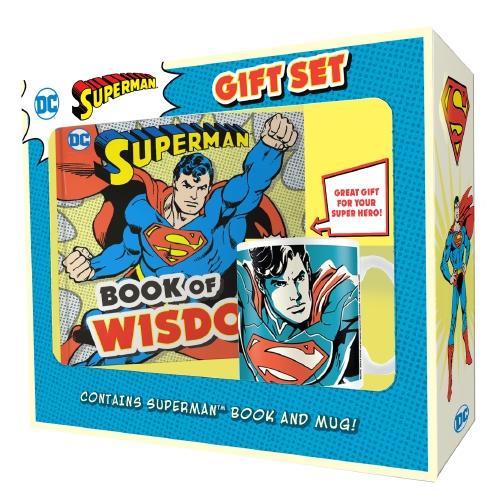 SUPERMAN: BOOK & MUG GIFT SET (DC COMICS)
