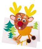 Pop-Up Reindeer Cards 10-Pack