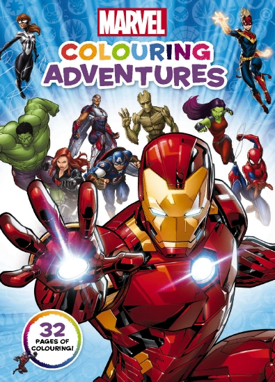 Marvel: Colouring Adventures                                                                         - Book