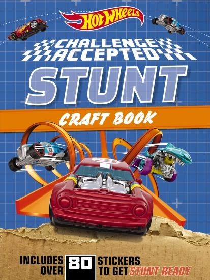 Hot Wheels Challenge Accepted: Stunt Craft Book (Mattel)