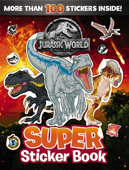 Jurassic World: Super Sticker Book (Universal)
