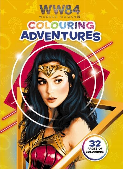 Wonder Woman 1984: Colouring Adventures (DC Comics)