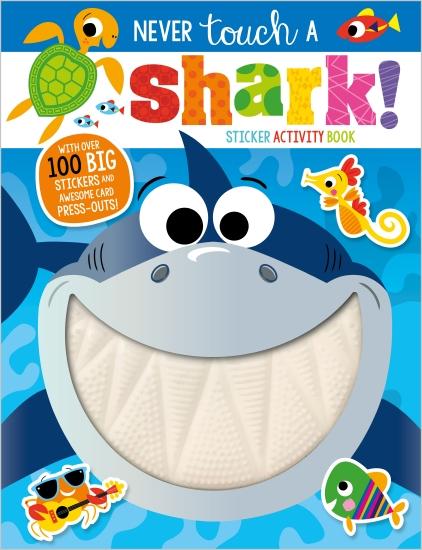 Never Touch a Shark Activity Book