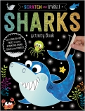 Scratch and Sparkle Sharks Activty Book