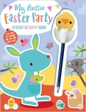 My Aussie Easter Party Sticker Activity Book with Chick Pen Topper