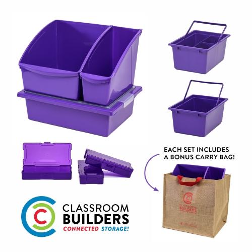 Classroom Builders Set - Purple