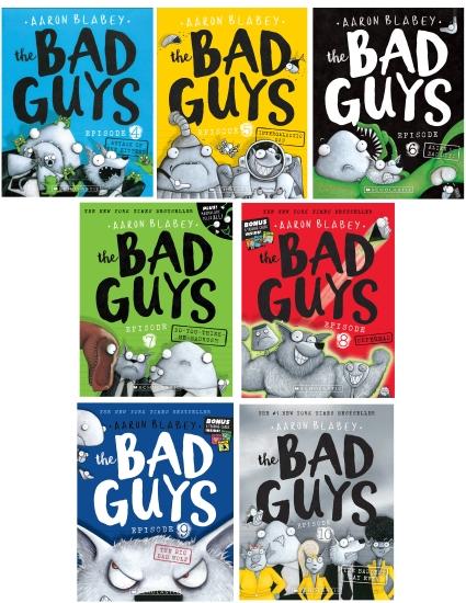 BAD GUYS #4-10 7-PACK
