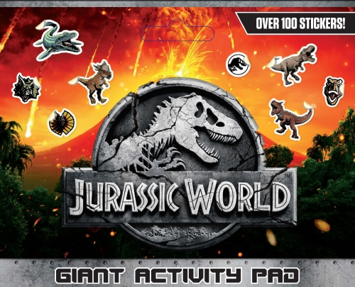 Jurassic World: Giant Activity Pad (Universal)