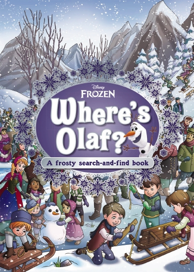 Where's Olaf?: A Frosty Search-and-Find Book (Disney: Frozen)