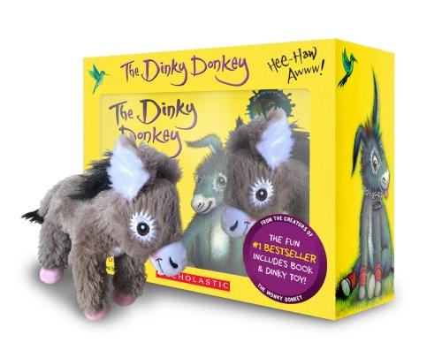 The Dinky Donkey Boxed Set + Plush + Minibook