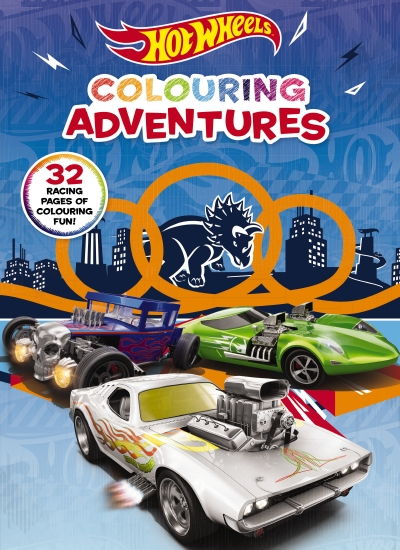 Hot Wheels: Colouring Adventures (Mattel)