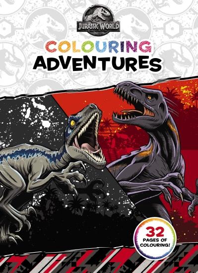 Jurassic World: Colouring Adventures (Universal)