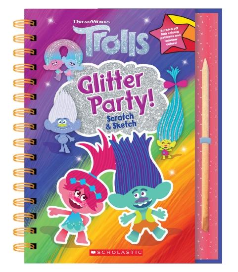 Trolls Glitter Party! Scratch & Sketch (DreamWorks)