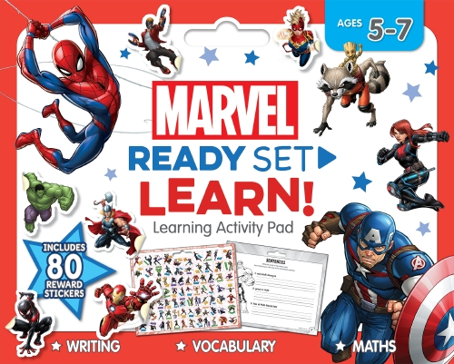 Marvel: Ready Set Learn! Learning Activity Pad                                                       - Book