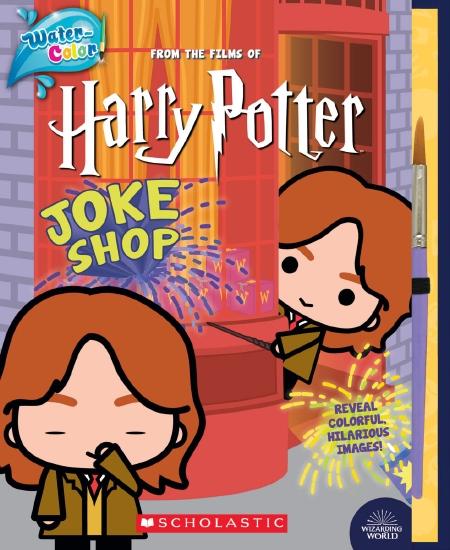 Harry Potter: Joke Shop: Water-Colour!