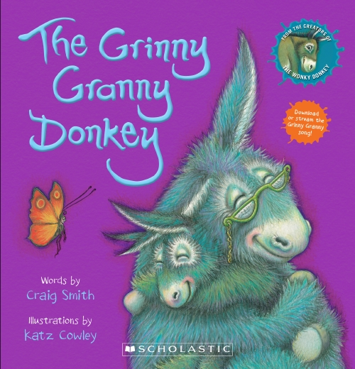 The Grinny Granny Donkey Board Book