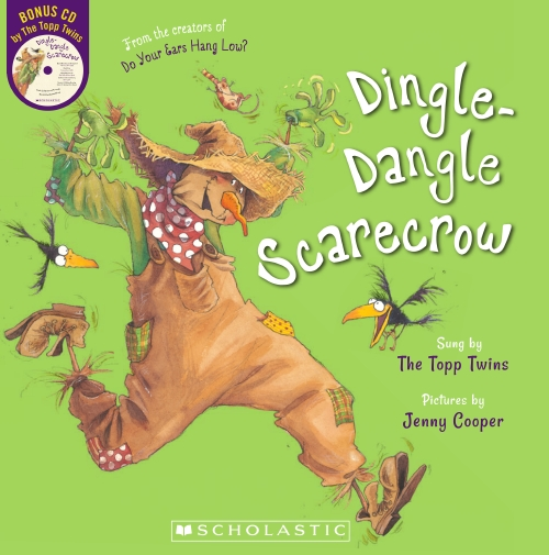 Dingle Dangle Scarecrow (with CD)                                                                    - Book