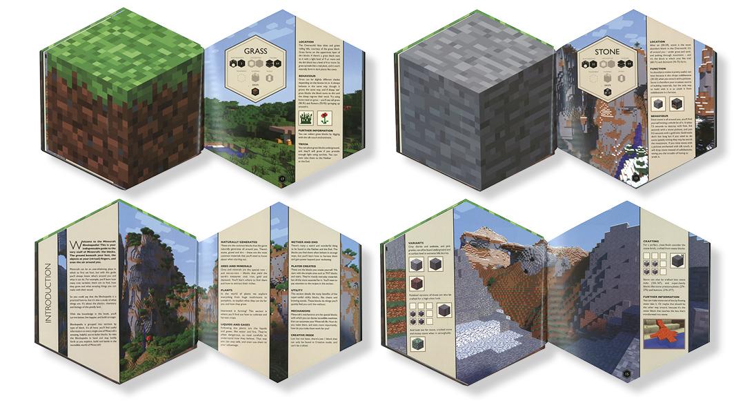 Product: Minecraft Block-O-Pedia - Book - School Essentials