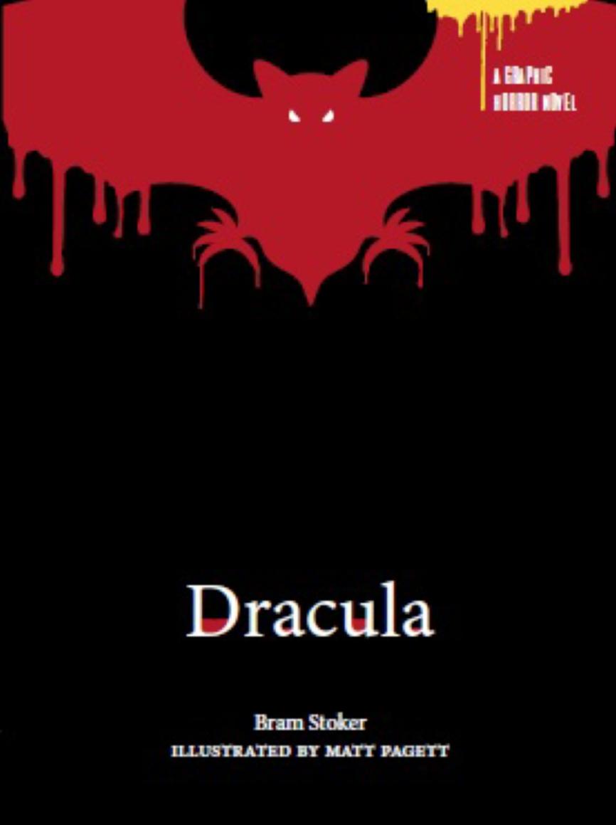 Product: Dracula: A Graphic Horror Novel - Book - School Essentials