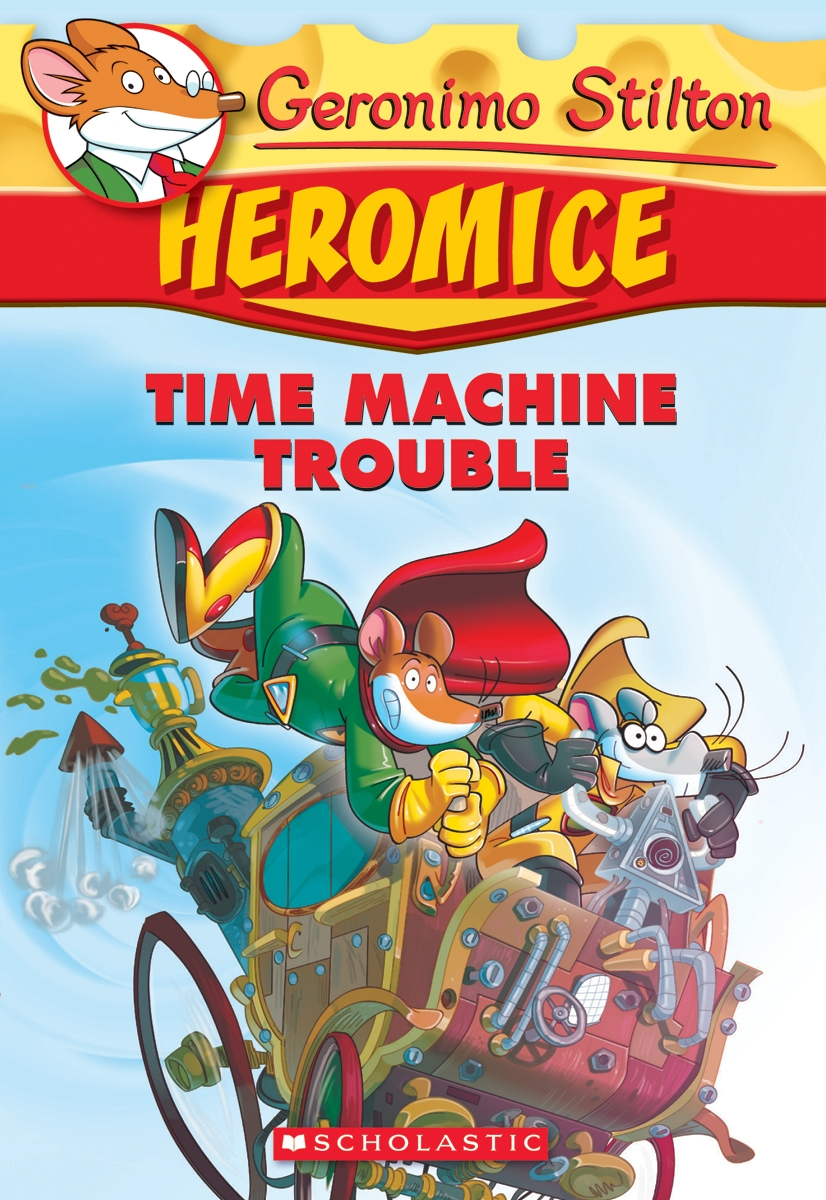 product geronimo stilton heromice 7 time machine trouble book
