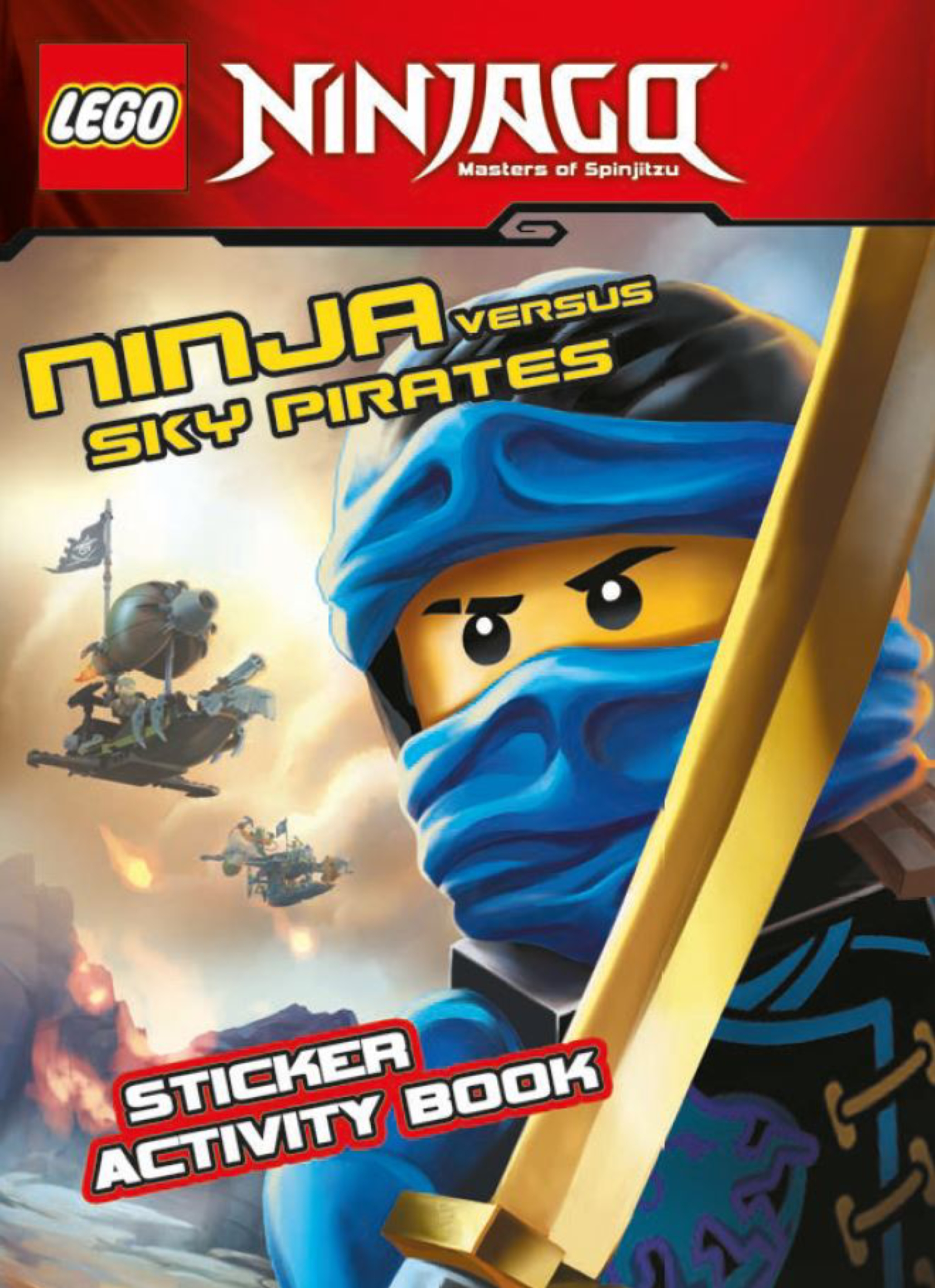 Product: LEGO Ninjago: Ninja Versus Sky Pirates Sticker